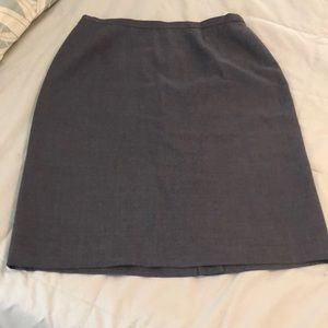 Brooks Brothers Fully lined wool skirt